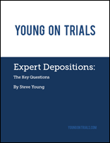 Expert Depositions (cover image)